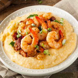 Shrimp and Grits - Southern Influence